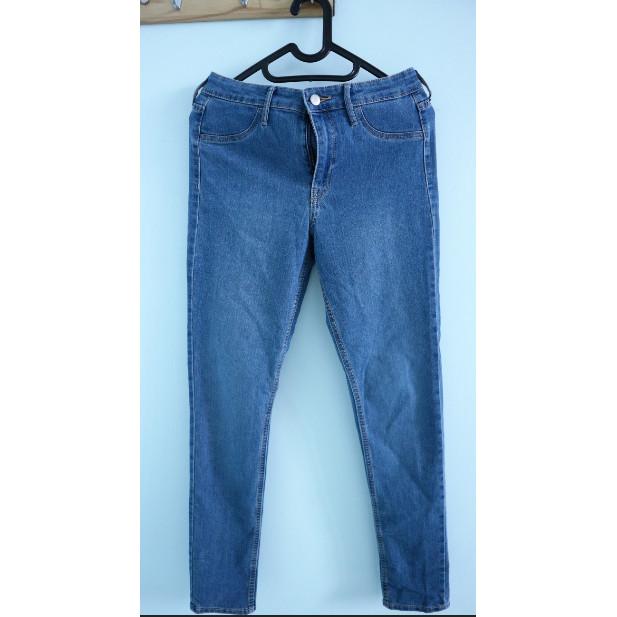 Jual H&M Jeans Skinny Ankle Regular Waist Celana Jeans Kota Tangerang DandellionHouse | Tokopedia