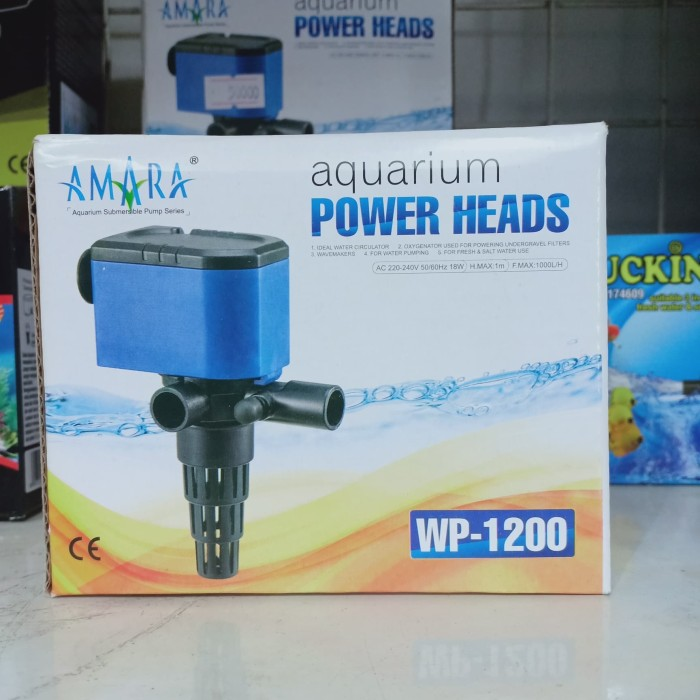 Jual Pompa Air Aquarium Power Heads Water Pump Pompa Celup ...
