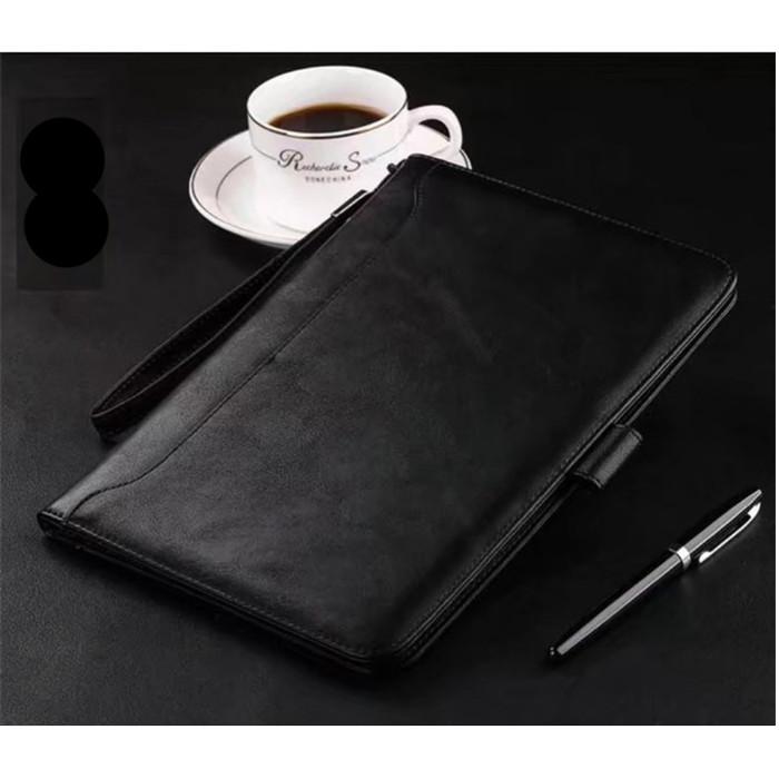 Foto Produk iPad Air 1/2 ORIGINAL LEATHER CASE STAND | BAHAN KULIT - Black dari Toko Aisyah24