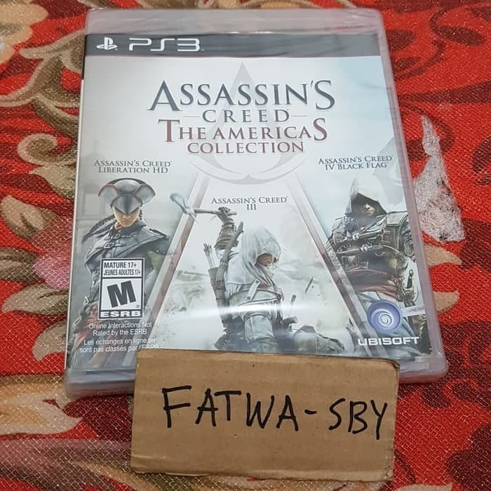 Jual Kaset Bd Ps3 Assassin S Creed The Americas Collection Kab