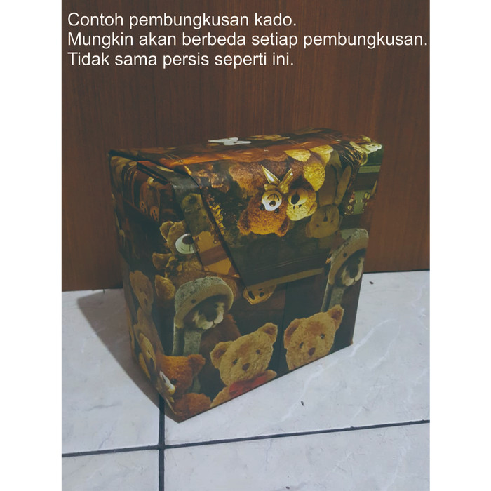 Foto Produk Packing kado / gift wrap untuk packing tarantula dari spider lover petshop
