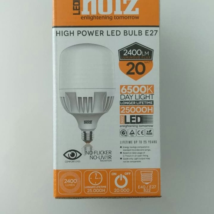 Jual Lampu High Power Ligh Bulb 20 Watt Cahaya Warm White Jakarta Pusat Daddy Electric Tokopedia