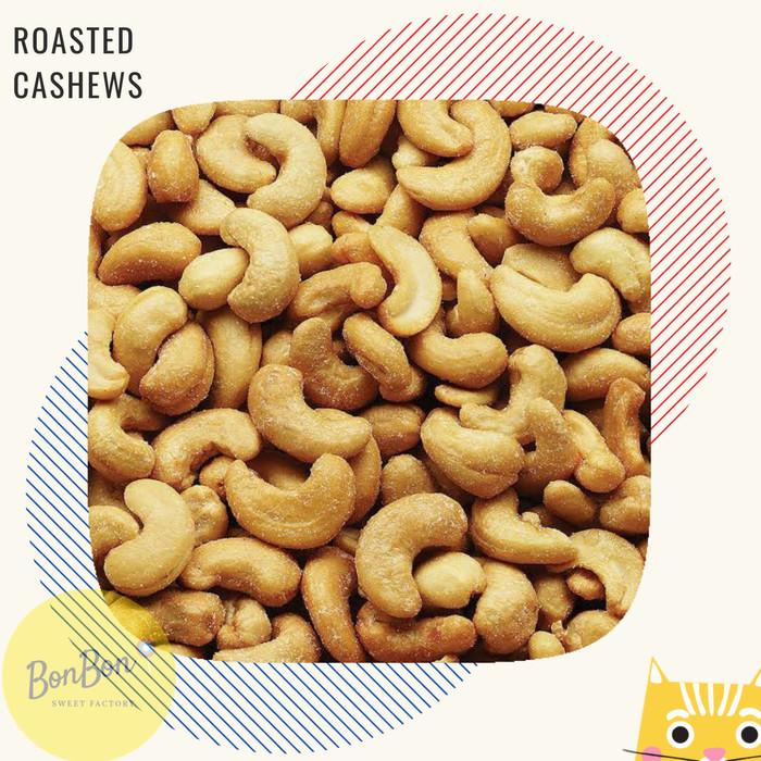 KACANG MEDE ORIGINAL PANGGANG METE OVEN / ROASTED CASHEW NUTS 250 GRAM