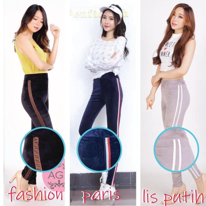 Jual Terlaris Legging Bludru Velvet Fashion Celana Legging Bludru Jakarta Pusat The Garage Storee Tokopedia