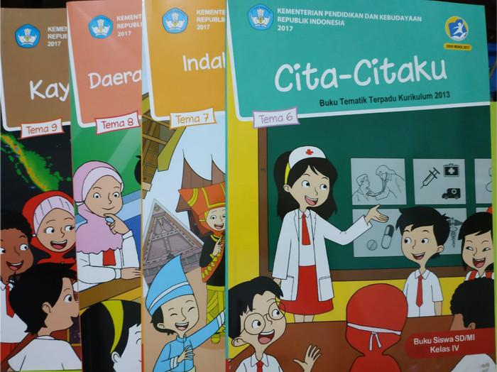 Buku Guru Dan Buku Siswa Kelas 4 Tema 6 Revisi 2018 Guru Ilmu Sosial