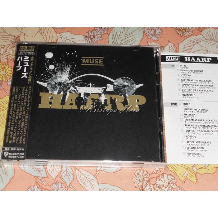 Jual CD Japan +DVD Live Muse HAARP Wembley Stadium London - DKI Jakarta -  Kristopo Heru | Tokopedia
