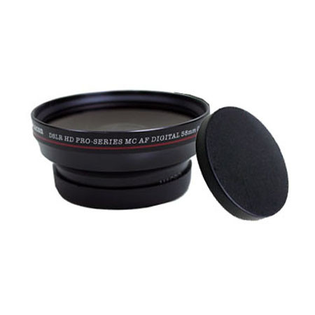 Foto Produk Vitacon DSLR HD Pro Wide Angle 0.5X 58mm (Excellent To Mint) dari JPC Kemang (Used)