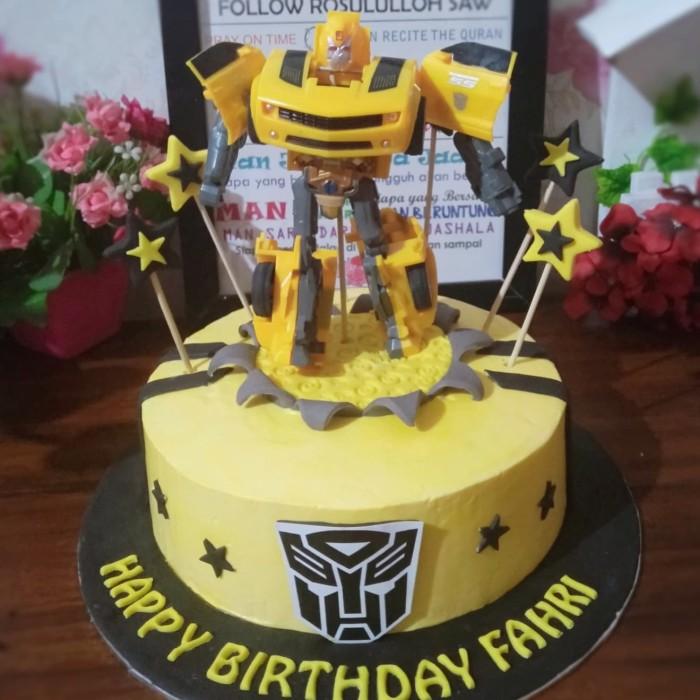 Jual Kue Ultah Transformers Cake Ultahtransformer Topper Transformer Kota Tangerang Selatan Baju Alya Shop Tokopedia