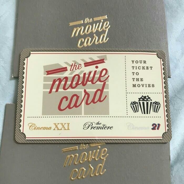 Jual Saldo 300ribu Movie Card Tiket Voucher Belanja Nonton Bioskop