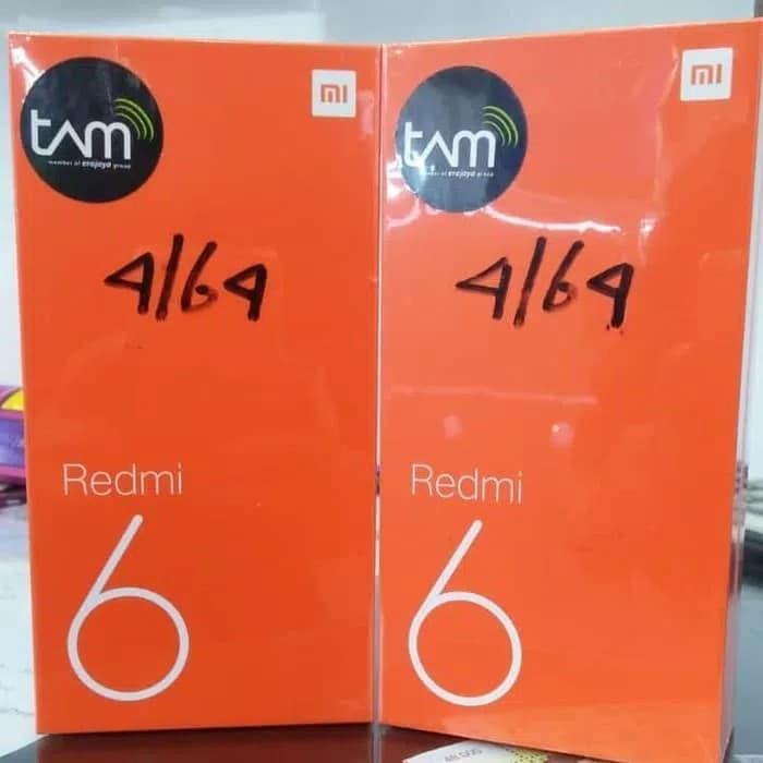 harga Hp xiaomi redmi 6 4gb 64gb tam Tokopedia.com