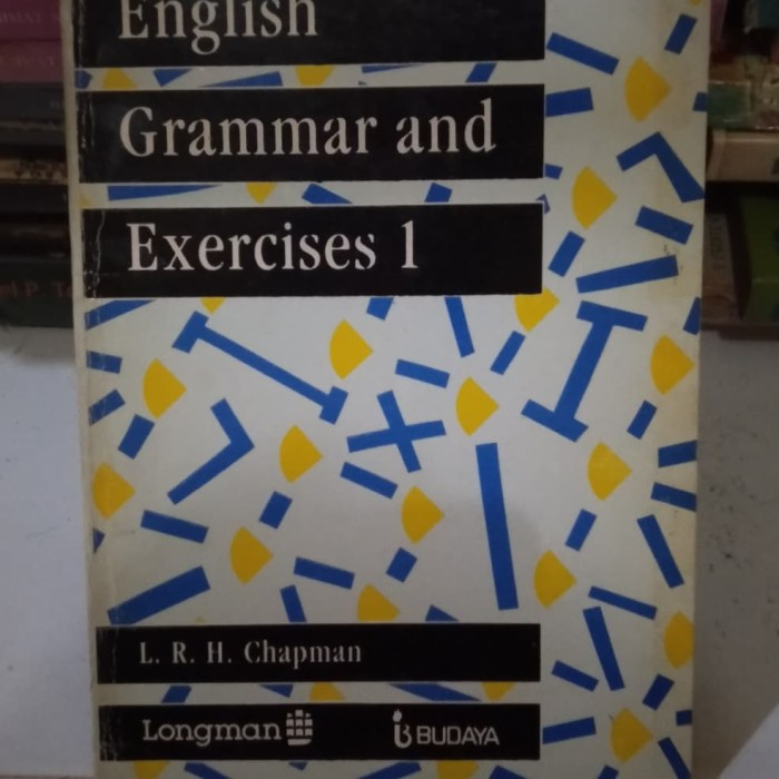 Foto Produk ORIGINAL BEKAS ENGLISH GRAMMAR AND EXERCISES 1 dari rozerbookstore