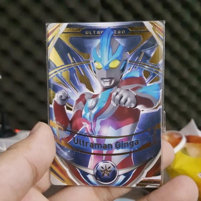 Jual Kartu Ultraman Fusion Fight Ultraman Ginga Gold Rare Kota Pekalongan Gamecardshop Tokopedia
