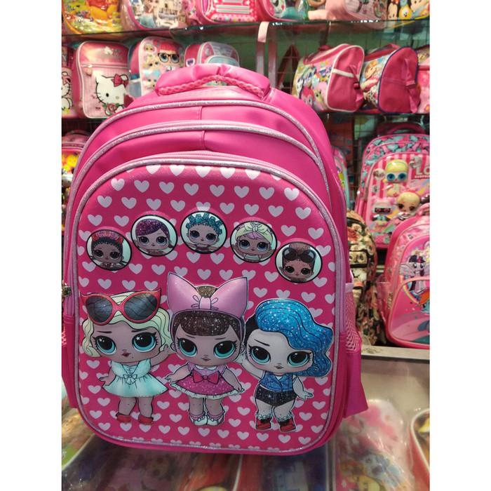 Jual tas troli SD LOL / little ponny import quality - Kota