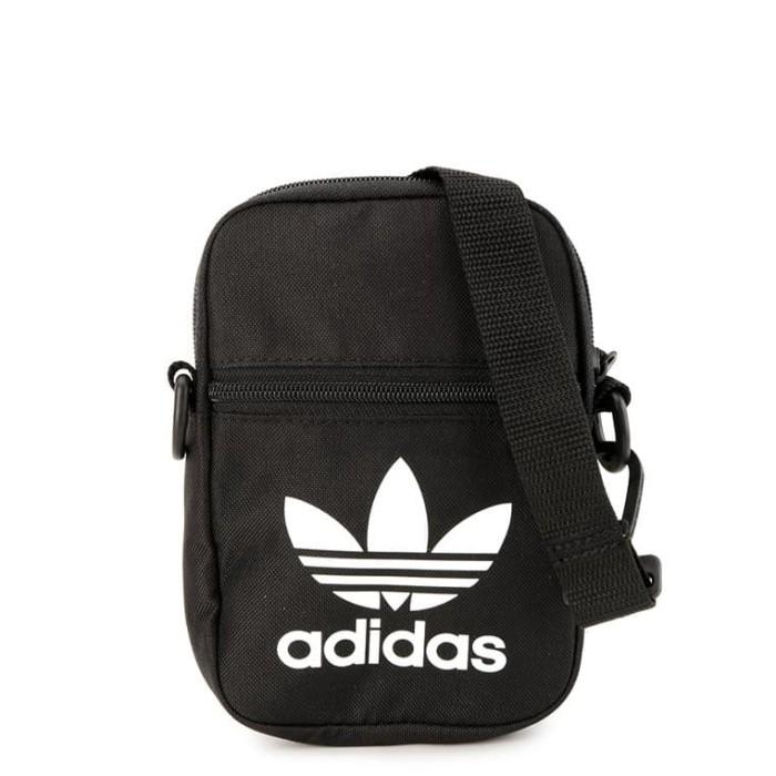 Jual Tas adidas (Adidas Originals Trefoil Festival Bag) Black Jakarta Selatan ervhint | Tokopedia