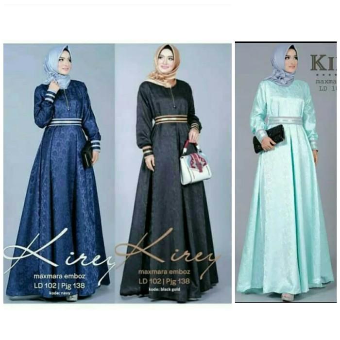 Foto Produk Baju Pakaian Busana Muslim Wanita KIREY Dress Gamis Terbaru Murah dari Zy's Distro
