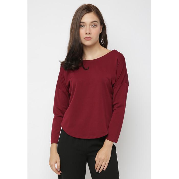 Foto Produk Cammomile Blouse fashion atasan Wanita SP1804035 - RED, M dari Cammomile FashionLine