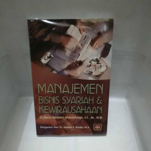 Jual Buku Manajemen Bisnis Syariah Dan Kewirausahaan Oleh Nana Herdiana Jakarta Barat Buku Buku Tokopedia