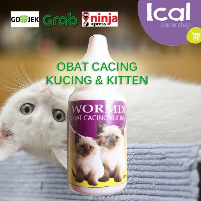 Jual Obat Cacing Untuk Kucing Dan Kitten Terdaftar Deptan Wormix 30ml Jakarta Barat Al Fath Petshop Tokopedia