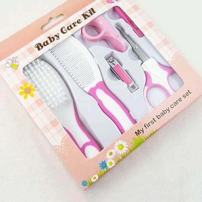 Set Ensemble de manucure pour bébé et bébé 6pcs Scissor