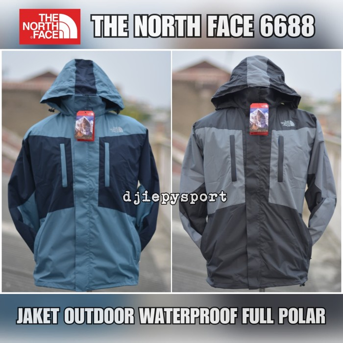 Jaket Gunung/ Outdoor The North Face (TNF) 6688 WP