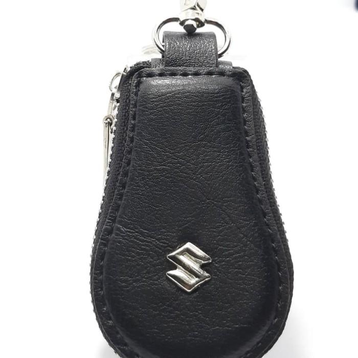 gantungan kunci mobil dan motor dompet stnk logo suzuki premium murah
