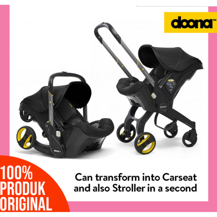 Jual Doona 2in1 Car Seat Stroller Flame Red Shopatchubby