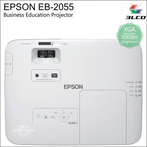 harga (dbwh psrn) proyektor epson eb-2055 5000 ansi lumen xga projector Tokopedia.com
