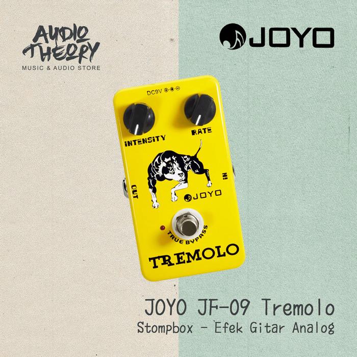 harga Joyo jf 09 tremolo - stompbox effect / efek pedal original Tokopedia.com