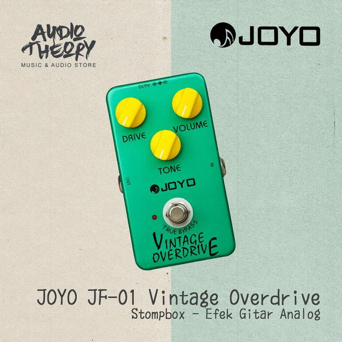 harga Stompbox joyo jf 01 vintage overdrive effect / efek pedal original Tokopedia.com