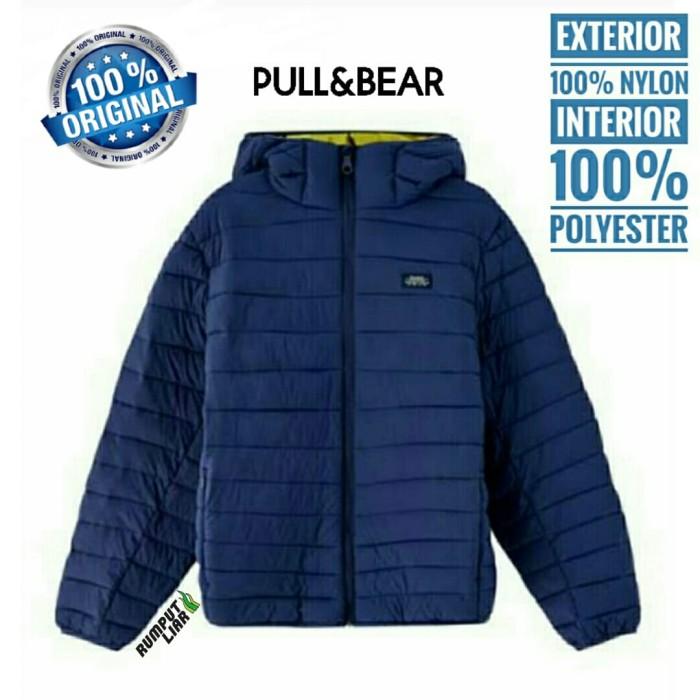 Jaket pull & bear hoodie musim dingin outdoor gunung fashion original