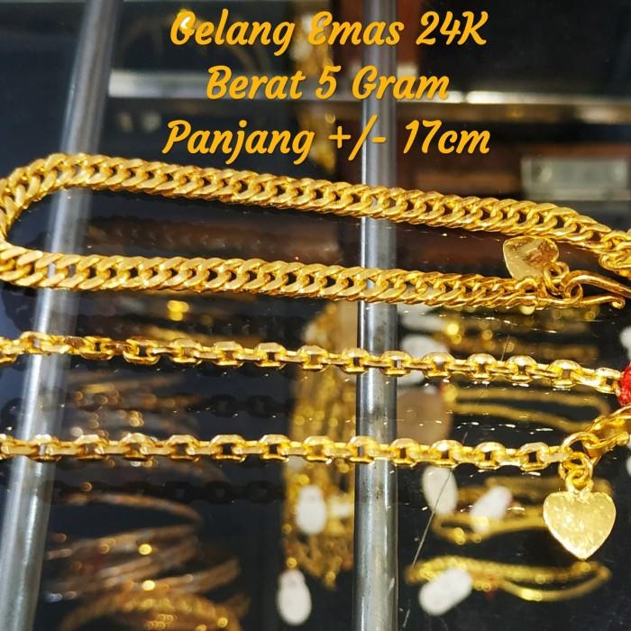Jual Gelang Emas 24k Bisa Kredit Kota Bekasi Toko Rc Big Toys Tokopedia