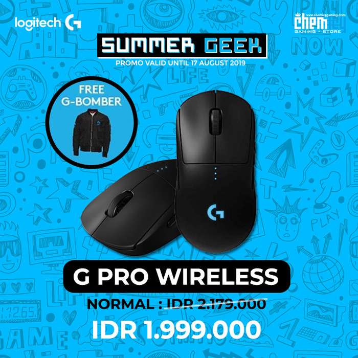 2ad64a98a53 Jual Logitech G Pro Wireless Gaming Mouse for Esports Pros - Kota ...
