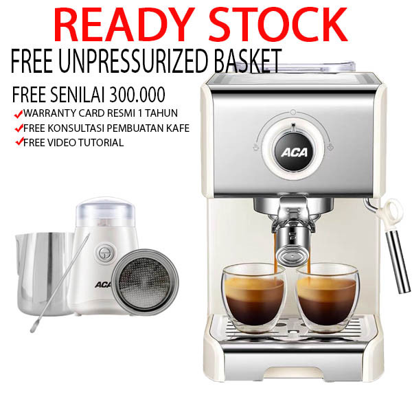 Jual Mesin Kopi KF6002 Espresso Maker Cappucinno Latte