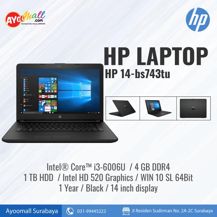 Jual Hp Laptop 14 Bs743tu Intel Core I3 Jakarta Utara Grosir Ria Jaya Tokopedia