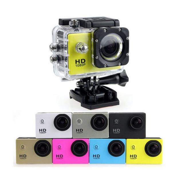 Foto Produk Sport Action Camera 1080P Sportcam 1080P NON WIFI Gopro - Abu-abu dari Zel store