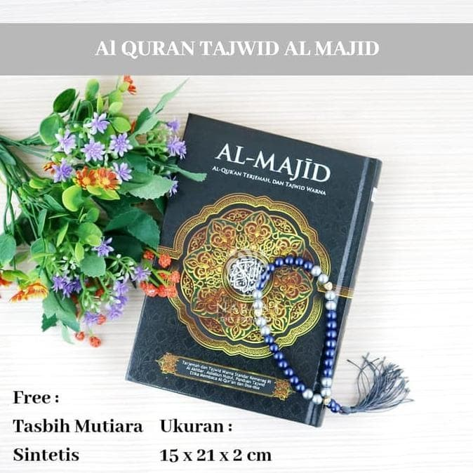 Jual Al Quran Al Majid A5 Al Quran Terjemah Dan Tajwid Free Tasbih Cantik Kota Surabaya Chuanqi91 Tokopedia