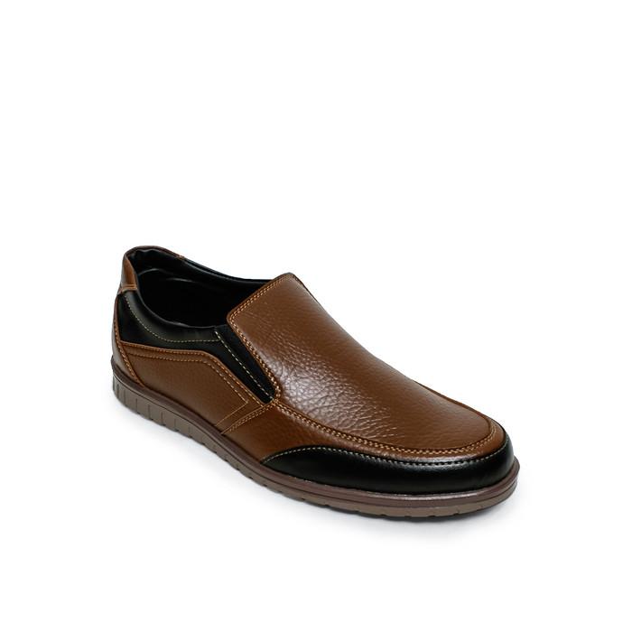 harga Paulmay sepatu casual pria roma 03 - cokelat 40 Tokopedia.com