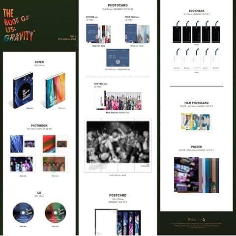 Jual DAY6 - THE BOOK OF US: GRAVITY - DKI Jakarta - Toko Kecil Album Kpop |  Tokopedia