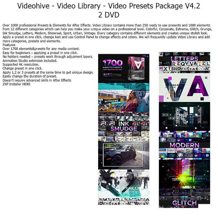 Jual AEP43 - Videohive - Video Library - Video Presets Package V4 2 - Kab   Semarang - EbookIndo | Tokopedia