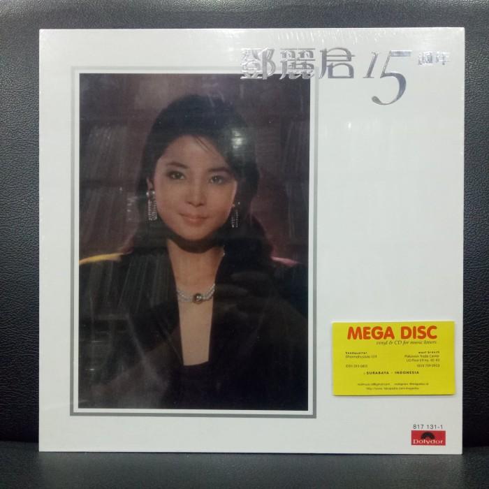harga Lp teresa teng - 15th anniversary mandarin album piringan hitam Tokopedia.com