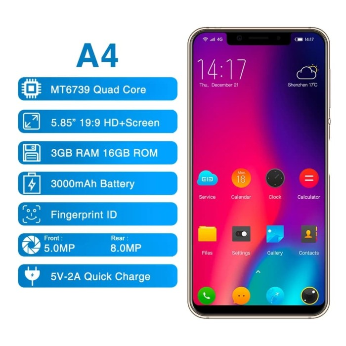 harga Elephone a4 3gb 16gb ready stock Tokopedia.com