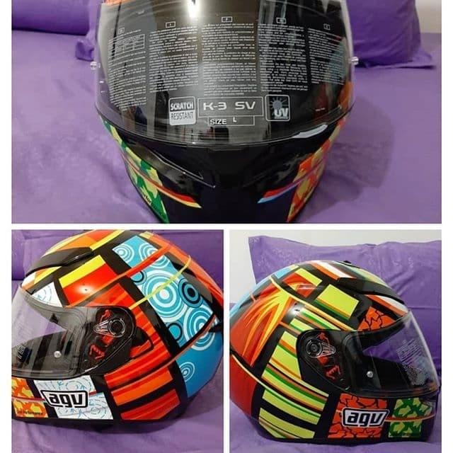 Jual Helm Fullface Agv K3sv Element Kota Depok Zkare Shop Tokopedia