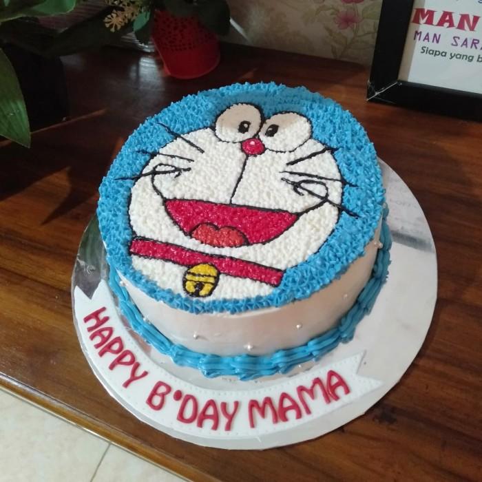 Jual Kue Ultah Doraemon Birthday Cake Doraemon Kue Ulang Tahun Doraemon Kota Tangerang Selatan Baju Alya Shop Tokopedia