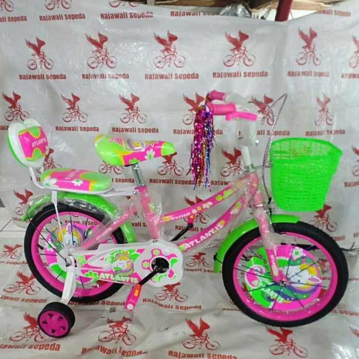harga Sepeda anak 16 mini atlantis kuda pony boncengan keranjang Tokopedia.com