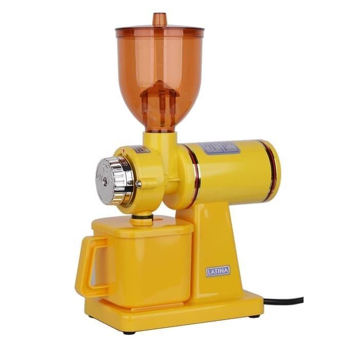 harga Original latina 600n coffee grinder gilingan kopi bonus 1kg arabika - kuning Tokopedia.com