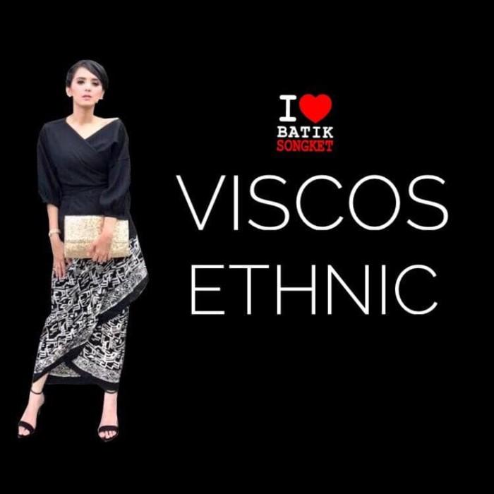 harga Viscos etnik viskos viscose bahan kain batik ikat kebaya batiksongket Tokopedia.com