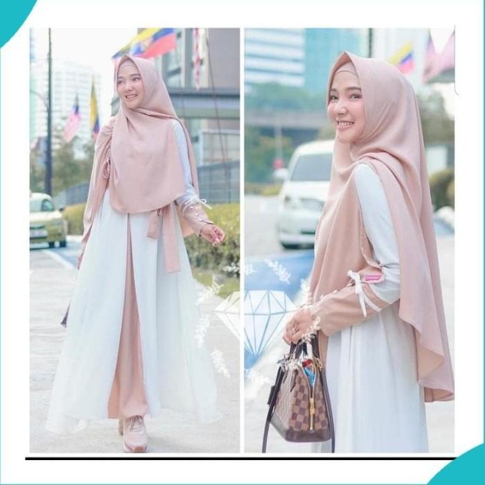 Jual Gamis Dress Syari Maya Putih Gamis Syari Terbaru Jakarta Pusat Putrawardana Speed Tokopedia