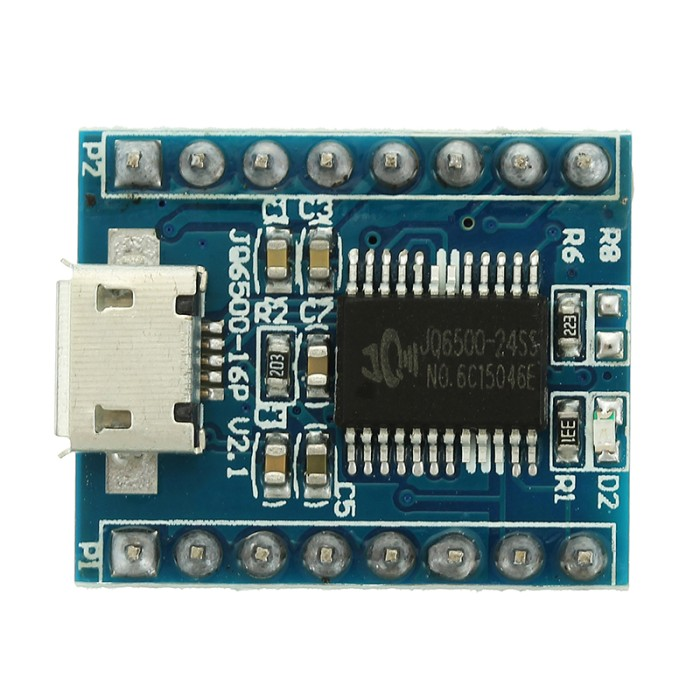 JQ6500 Voice Sound Module USB Replace One to 5 Way MP3 Voice Standard TOP