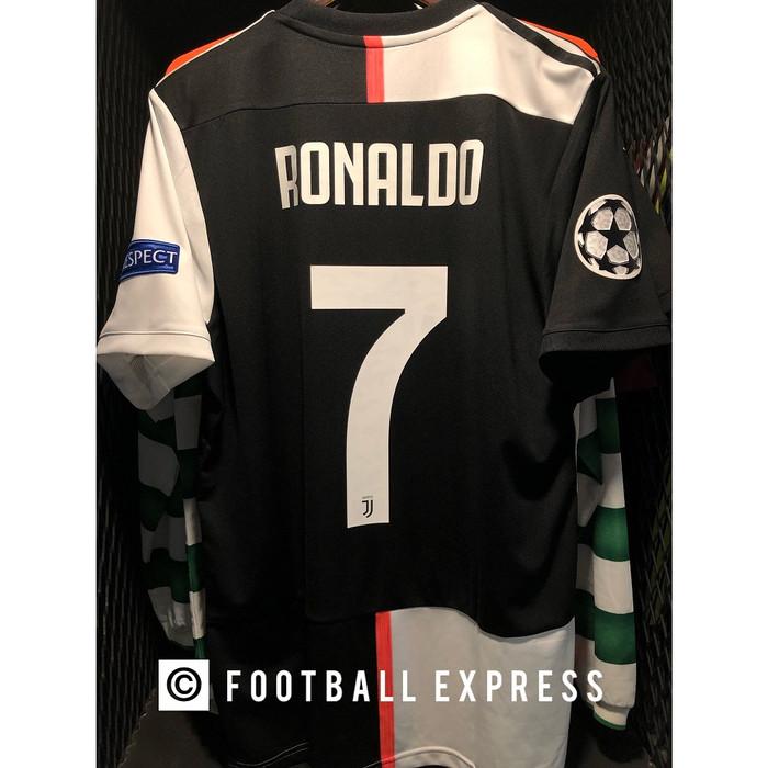 factory authentic d6d98 10f3a Jual Jersey Original Juventus Home Ronaldo Full patch UCL 2019-20 - DKI  Jakarta - football express | Tokopedia