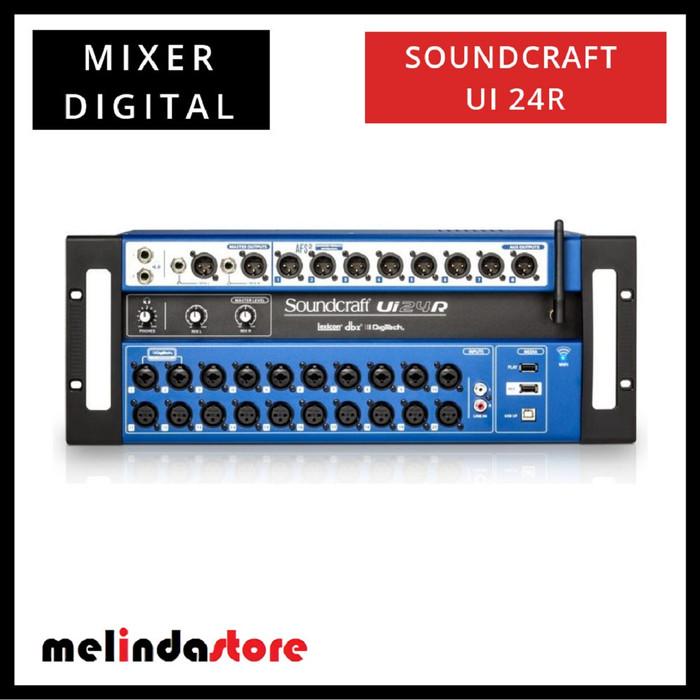 harga Mixer digital soundcraft ui 24r original Tokopedia.com